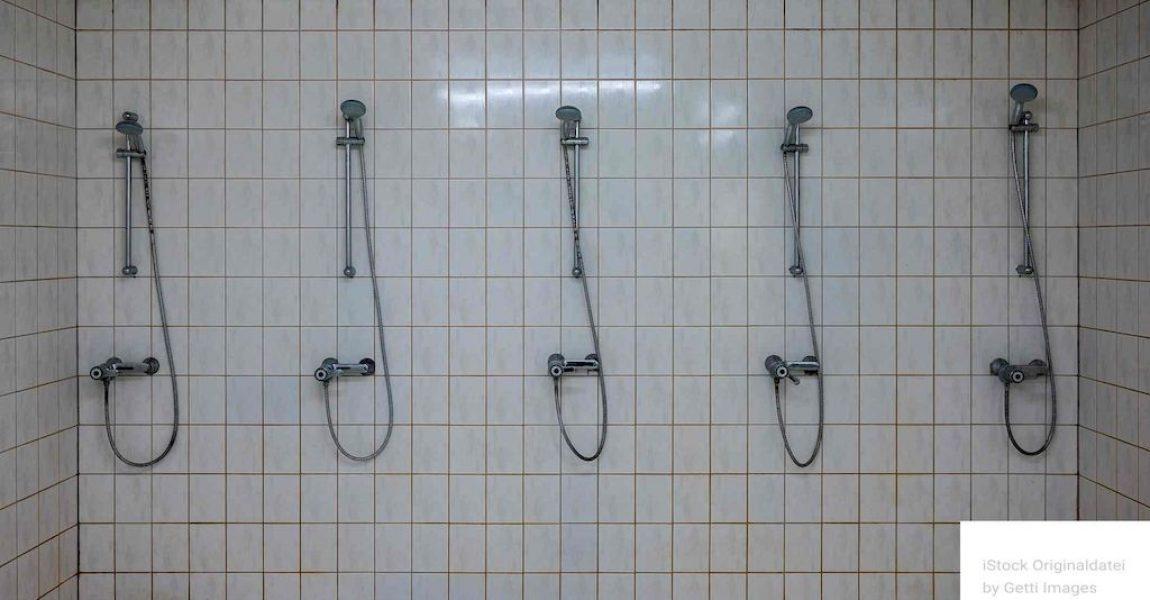 Legionellen unter der Dusche: So können sich Sporthallenbetreiber schützen Foto: iStock.com/Ralf Geithe